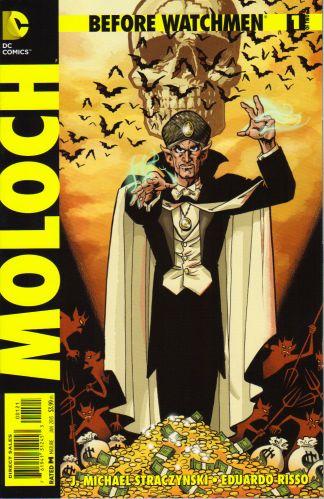 Before Watchmen Moloch #1 1:25 Matt Wagner Variant DC 2012