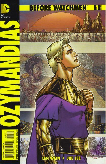 Before Watchmen Ozymandias #1 1:25 Phil Jimenez Variant DC Comics 2012