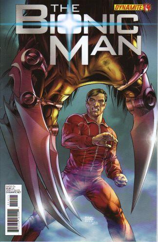 Bionic Man #14 1:10 Ed Tadeo Variant