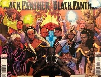 Black Panther #14 & #15 Jamie McKelvie Connecting Variant Set Marvel 2016