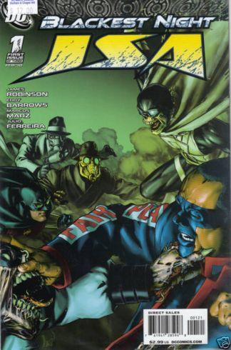 Blackest Night: JSA #1 Gene Ha Variant