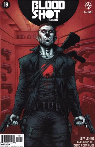 Bloodshot Reborn #18 1:20 Robert Gill Variant Cover E Valiant 2015