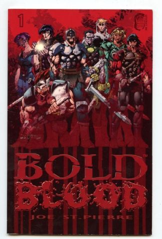 Bold Blood #1 Signed
