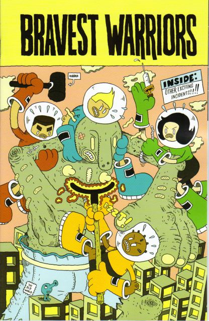 Bravest Warriors #1 1:15 Marc Bell Variant Cover C Boom 2012 Adventure Time