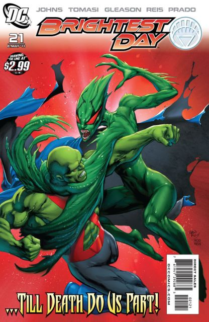 Brightest Day #21 VARIANT