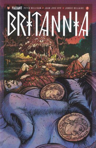 Britannia #2 1:20 Ryan Lee Variant Cover D Valiant 2016