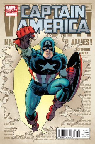Captain America #1 Sinnott Variant