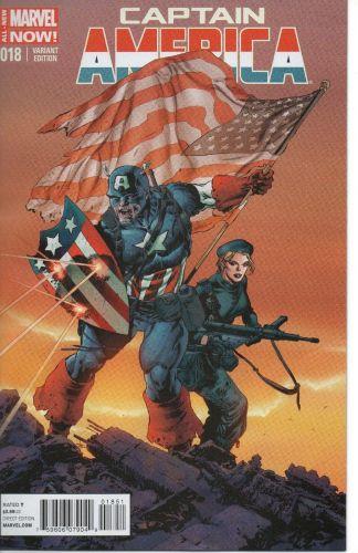 Captain America #18 1:20 Klein Variant