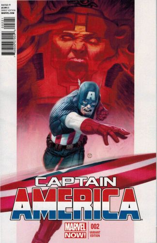 Captain America (2012) #2 Julian Tedesco Variant Marvel Now! VF Copy