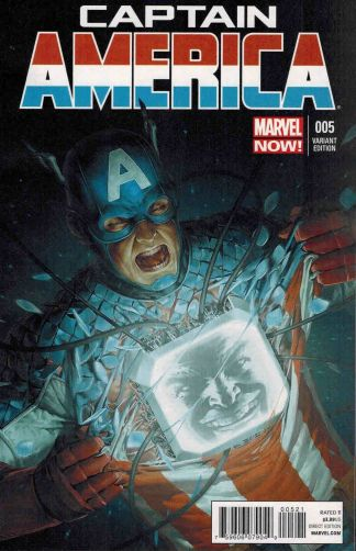 Captain America #5 Yoon 1:50 Variant Cover Marvel NOW