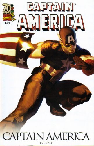 Captain America #601 70th Anniversary Marko Djurdjevic Variant