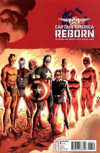 Captain America: Reborn #3 John Cassady Variant