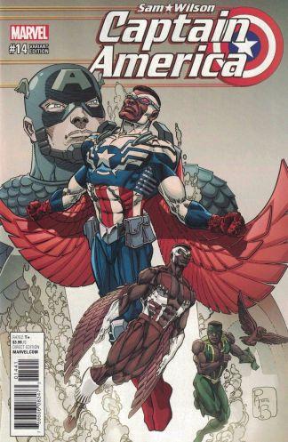Captain America Sam Wilson #14 1:15 Brodrick Classic Variant NOW Marvel 2016