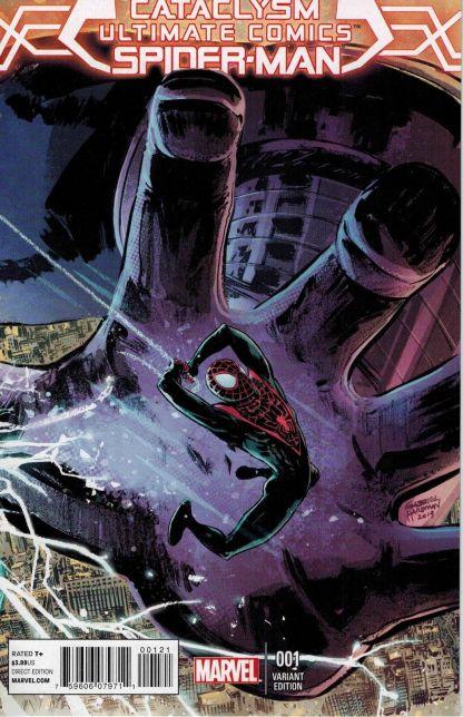 Cataclysm; Ultimate Comics Spider-Man Gabriel Hardman Variant