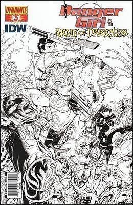 Danger Girl and the Army of Darkness #3 NICK BRADSHAW variant
