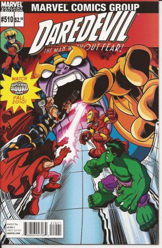 Daredevil #510 Super Hero Squad Variant