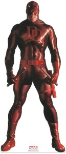 Daredevil 74in. Life-Size Cardboard Cutout Marvel Alex Ross Timeless Collection US Only