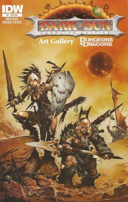 Dark Sun Art Gallery #2 Retailer Incentive Variant Cover