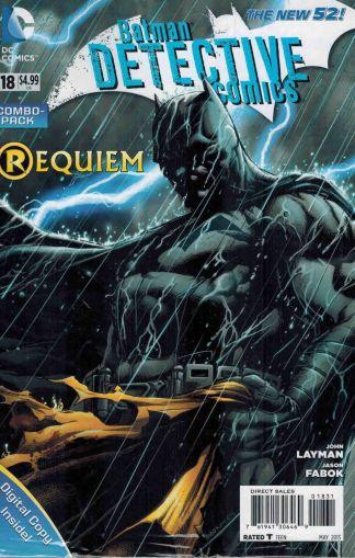 Detective Comics #18 Requiem Death of Robin Digital-Combo Pack