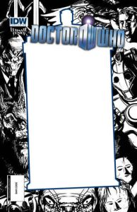 Doctor Who (Vol. 3) #1 UC Exclusive Variant Flip Cover Charles Wilson and Blank