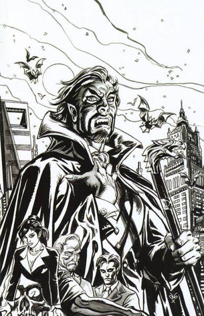 Dracula COmpany of Monsters #1 Brereton B&W