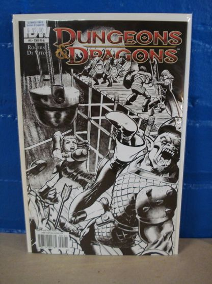 Dungeons & Dragons #5 B&W Variant