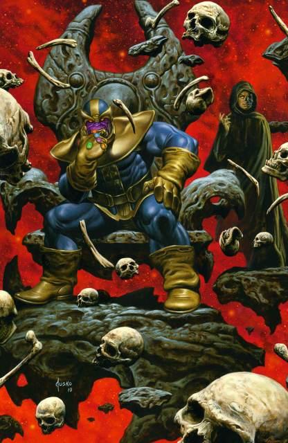 Eternals #1 Joe Jusko Exclusive Thanos Infinity Gauntlet Virgin Variant 500 Copy