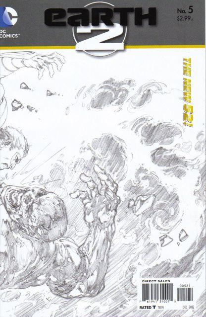 Earth 2 #5 1:25 Sketch Variant