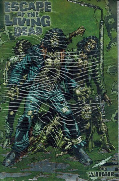 Escape of the Living Dead #1 Platinum Foil Variant