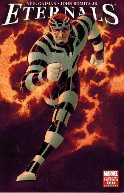 Eternals #2 John Romita Jr Variant