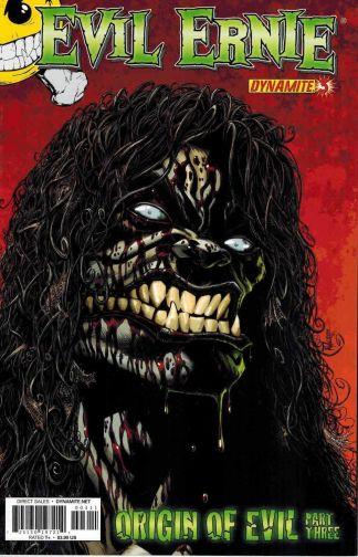 Evil Ernie #3 Kyle Hotz Variant Cover