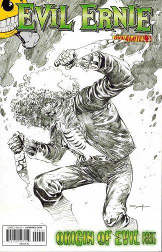 Evil Ernie #4 Adrian Syaf Sketch Variant