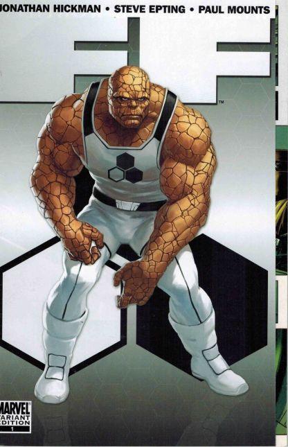 FF #1 Marko Djudjevic Gatefold Variant Fantastic Four Spider-Man