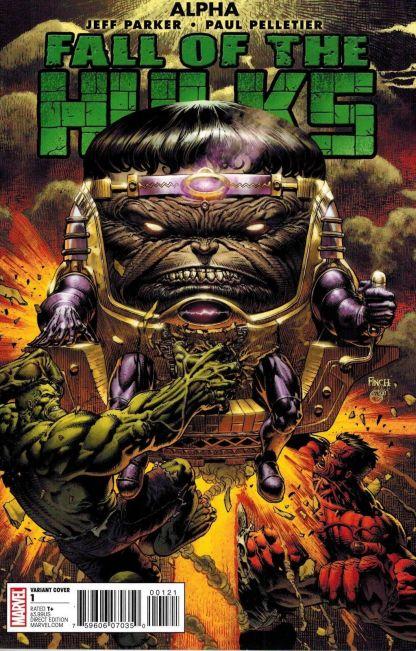 Fall of the Hulks Alpha #1 David Finch Leader Variant