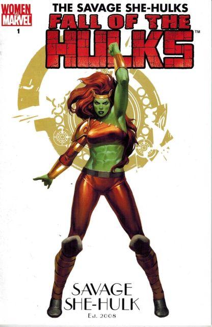 Fall of the Hulks: The Savage She-Hulks #1 Marko Djurdjevic Variant