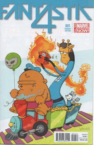 Fantastic Four #1 Katie Cook Animal Variant