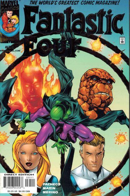 Fantastic Four #35 Gold Foil Variant
