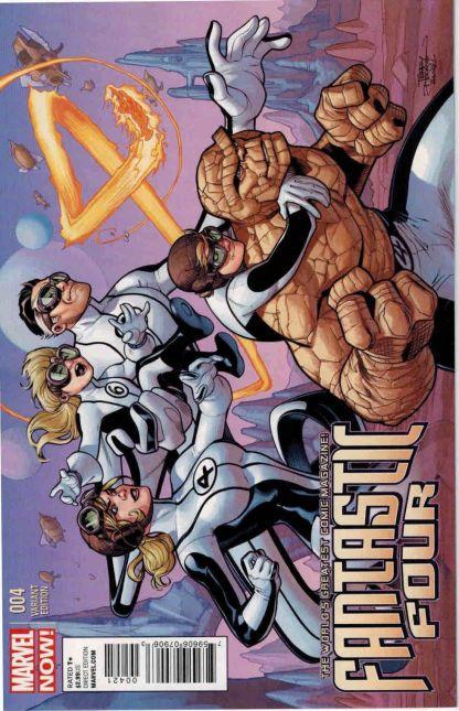Fantastic Four #4 Marvel NOW Terry Dodson Variant