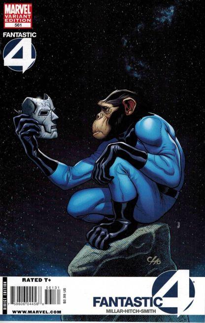 Fantastic Four #561 Frank Cho Marvel Apes Variant