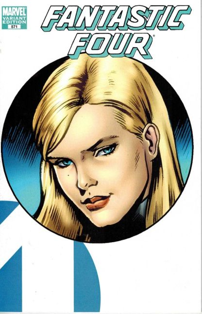 Fantastic Four #571 Invisible Woman Variant