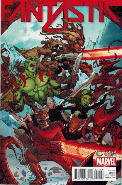 Fantastic Four #7 1:15 Guardians of the Galaxy Variant