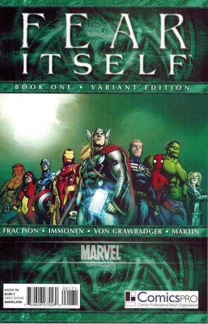 Fear Itself #1 Comics Pro Variant