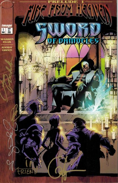 Fire From Heaven: Sword of Damocles #1 Signed Variant