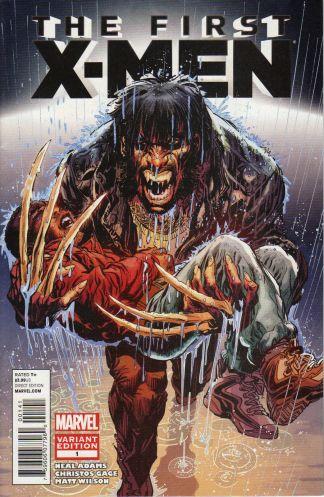 First X-Men #1 1:50 Neal Adams Wolverine Variant Marvel 2012