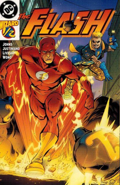 Flash #1/2 Howard Porter Wizard Variant Cover