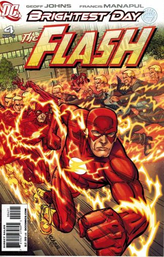 Flash #4 Scott Kolins Variant