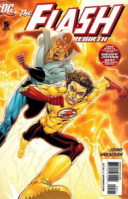 Flash: Rebirth #5 Ethan Van Sciver Variant