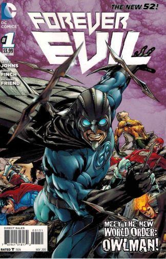 Forever Evil #1 Ivan Reis Owlman Variant