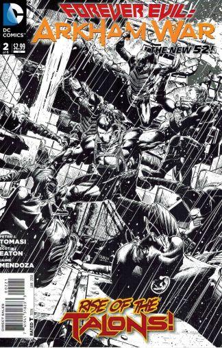 Forever Evil: Arkham War #2 Black and White Jason Fabok Sketch Variant