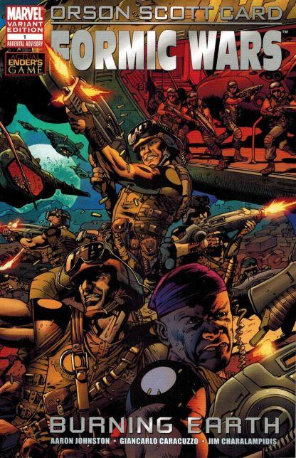Formic Wars: Burning Earth #1 Bryan Hitch Variant